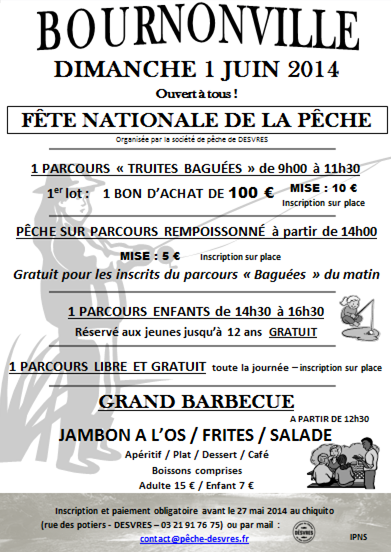 Affiche Fête Nationale 2014